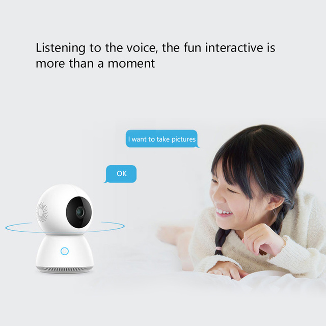 Xiaomi Mijia Xiaobai Smart Camera Enhanced Edition AI control 1080p Smart Web IP Cam 360 View Baby Monitor 3