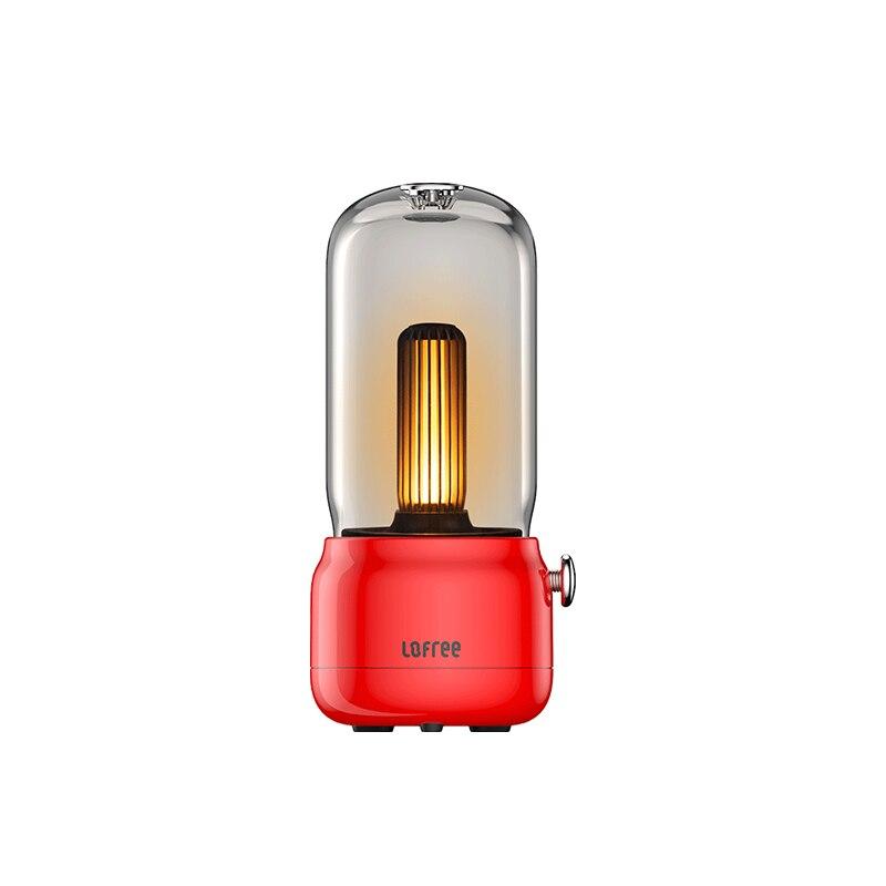 XIAOMI MIJIA Night Light LOFREE Portable Candlelight Ambient Light LED table lamp Indoor outdoor Lighting Fixtures USB Charging