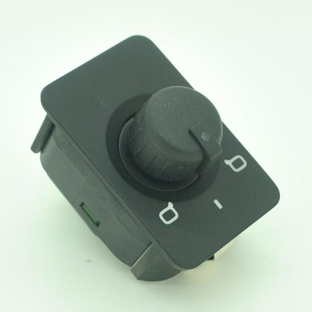 กระจกมองข้างไฟฟ้าการควบคุมสวิทช์ปุ่มลูกบิดสำหรับ Audi A3 A6 C5 4B0 959 565A/4B0959565A
