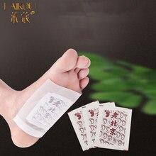 LAIKOU 50 sztuk plastry detoksykujące do stóp ciała Detox Foot Patch pielęgnacja stóp odchudzanie stary pekin Foot Patch imbir organiczny Detox stóp oczyszczanie