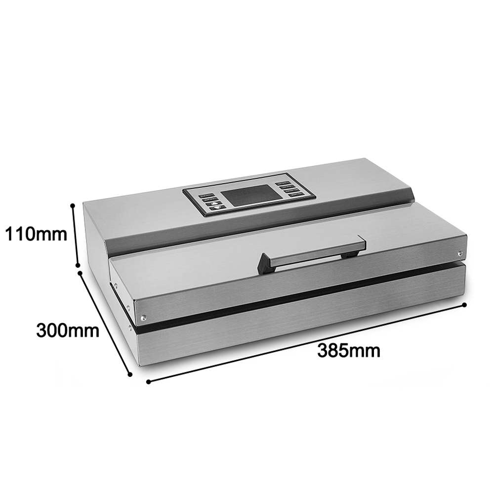 Image 3 - ITOP Home use Food Vacuum Sealer Packing Machine 30cm Length Semi automatic Electric Vacuum Sealers Food Processors-in Vacuum Food Sealers from Home Appliances