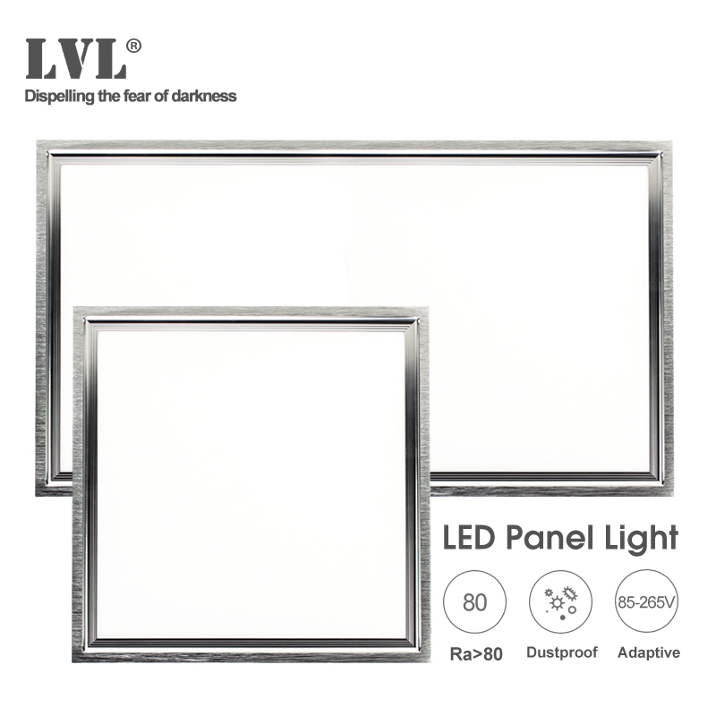 LED Panel Light 24W 30*60cm 12W 30*30cm 6000K 4000K 85-265Vac Waterproof Driver Ceiling Lamp For The Kitchen And Bathroom