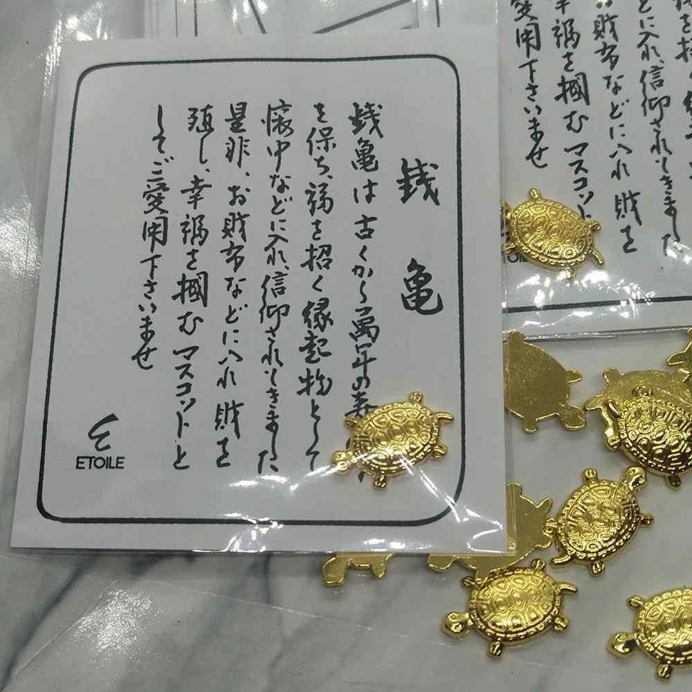 2020 ใหม่ล่าสุดเงินเต่าขนาดเล็ก Golden เต่าคลิปเงิน Mascot Lucky Charm เครื่องประดับเงินเต่า