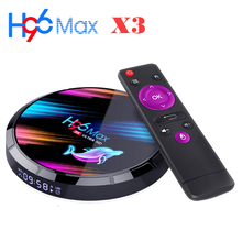 2020 Baru H96 Max X3 TV Box Android 9.0 Amlogic S905X3 Quad Core 4G Ram 32G/64G/128G ROM Wifi 2.4G/5G Bt USB3.0 RJ45 HDMI(China)