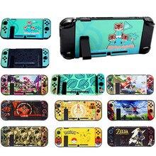 Cubierta protectora para consola NS Nintendo Switch, carcasa de placa, muelle directo acoplable, Joy con Xenoblade 2/Zeldar/Splatoon 2