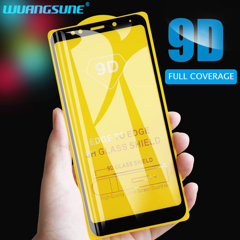 9D Screen Protector Tempered Glass For Xiaomi Redmi 4X 5 Plus 6 S2 Go 7A Full Cover Protective Glass For Redmi Note5 Pro 5A Film