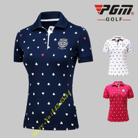 New! PGM Golf Shirt Sports Wear Women's Long Sleeved Trainning T shirt Female Clothing Ropa De Golf Polera Hombre Apparel