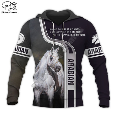 PLstar Cosmos Racing Horse Animal New Fashion Tracksuit Pullover Casual 3Dprint Zipper/Hoodies/Sweatshirt/Jacket/Mens Womens S10