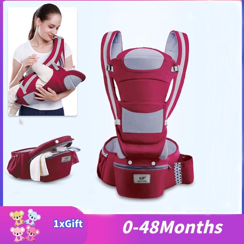 0-3-48m Portabebe Baby Carrier Ergonomic Baby Carrier Infant Baby Ergonomic Kangaroo Baby Sling For Newborns Ergoryukzak