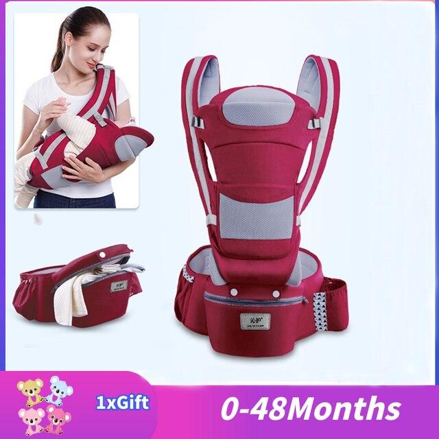 0 3 48m Portabebe Baby Träger Ergonomische Baby Träger Infant Baby Ergonomische Känguru Baby Sling Für Neugeborene Ergoryukzak