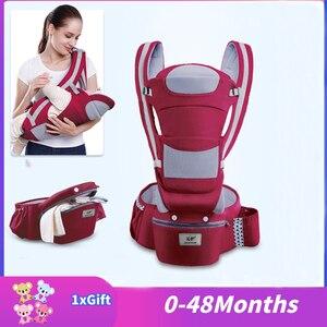 Image 1 - 0 3 48m portabebe portador de bebê ergonômico portador de bebê infantil bebê canguru ergonômico estilingue para recém nascidos ergoryukzak