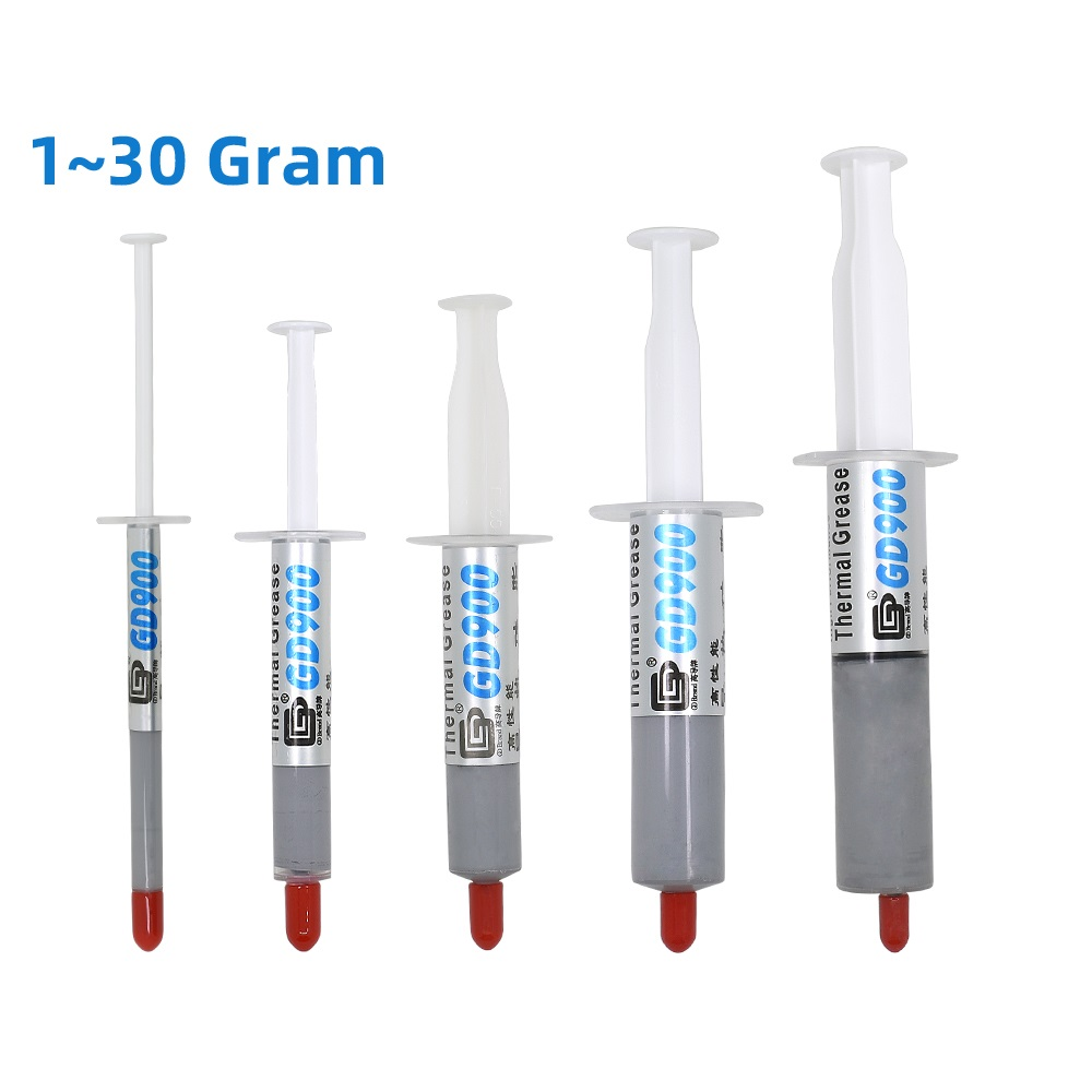 GD900 1/3/5/7/15/30g Thermal Grease Heatsink GD900 Thermal Paste For Cpu Processors Heatsink Plaster Water Cooling Cooler
