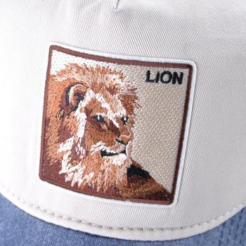 Summer Baseball Cap Men Women Fashion Animals Embroidery Snapback Dad Hat Spring Cotton Washed Denim Hip Hop Bone Dropshipping 2