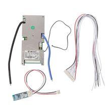 Placa protectora de batería de litio con Bluetooth 14S BMS PCB, corriente estática móvil inteligente, componentes de 48V, protección inteligente