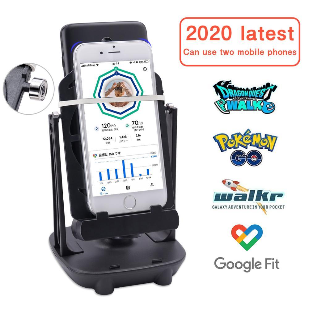 Lefon телефон прогулочные шейкер мобильный телефон подставка держатель шагомер щетка Степпер для игры