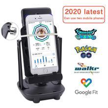 Pedometer-Brush Stepper Wiggler-Counter Shaker Phone Mobile-Stand-Holder Walking-Swing