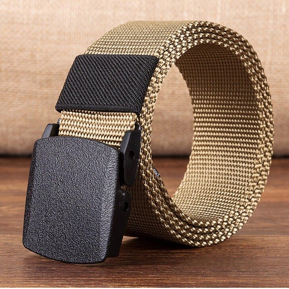 Fashion Men Belt Women Automatic Nylon Belt Buckle Military Fans Tactical Canvas Belt Wholesale Free Ship ремень мужской Z5