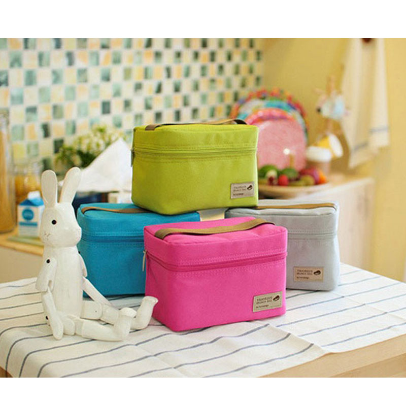 Good Quality Thermal MINI Lunch Bags Unique Design Waterproof Travel Picnic Necessories Cooler Lunch Box Bags Size:17*11*12cm
