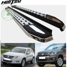 fashion style running board side step bar for VW TIGUAN 2008-2010-2017, \