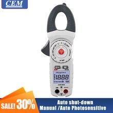 Medidor de braçadeira digital ac amperímetro cem DT-333H de alta precisão verdadeiro valor efetivo amperímetro totalmente automático display digital