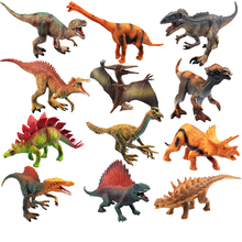 2020 New Tyrannosaurus dinosaur model children's educational toys simulation animal small gifts  Action Figures jJurassicc Park 8pcs set simulation solid dinosaur toys pvc collecta dinosaurs figures oviraptor pteranodon animals model toys for boys gifts