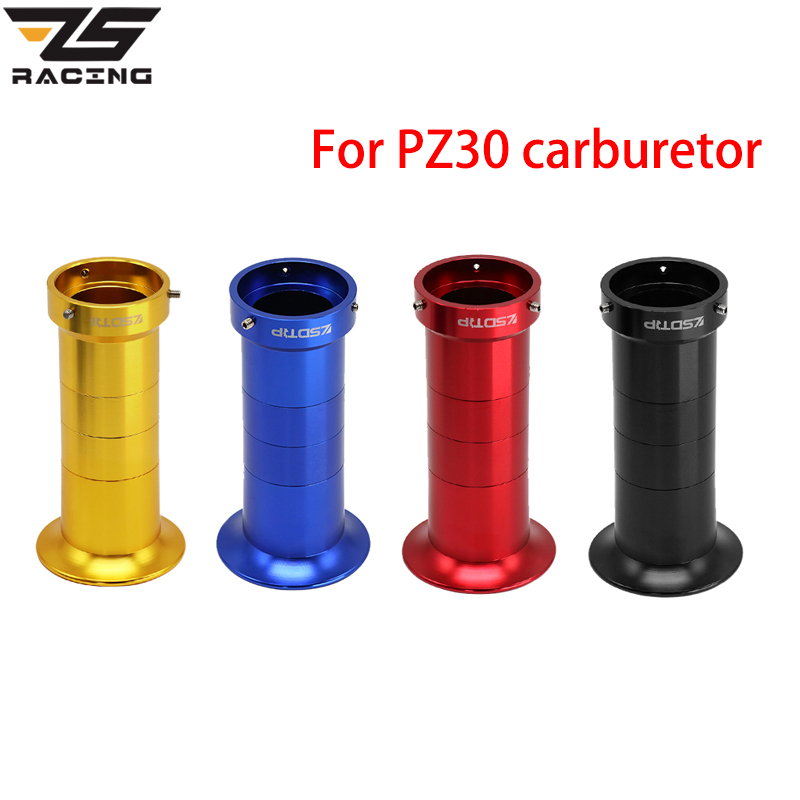 ZS Racing Motorcycle 43mm Air Filter Cup Wind Cup Horn Cup For PZ30 Carburetor Modified Carb image