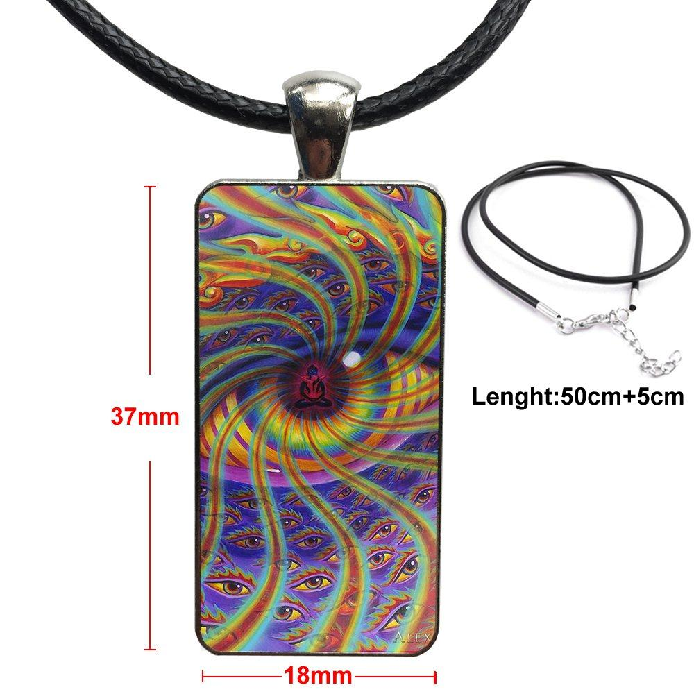 Simple Egypt Artwork For Women Men Party Fashion Necklace Handmade Rectangle Shape Choker Necklace Jewelry