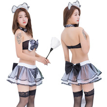 Sexy adult underwear cute maid erotic role-playing suit sex skirt servant temptation student uniform cosplay woman uniform sexy