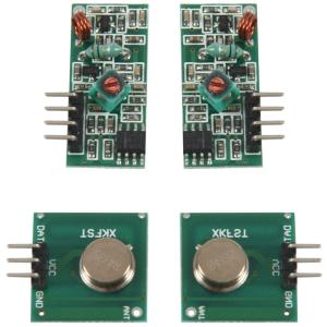 WSFS Hot 2SET 433Mhz RF Transmitter and Receiver Module link kit for Arduino