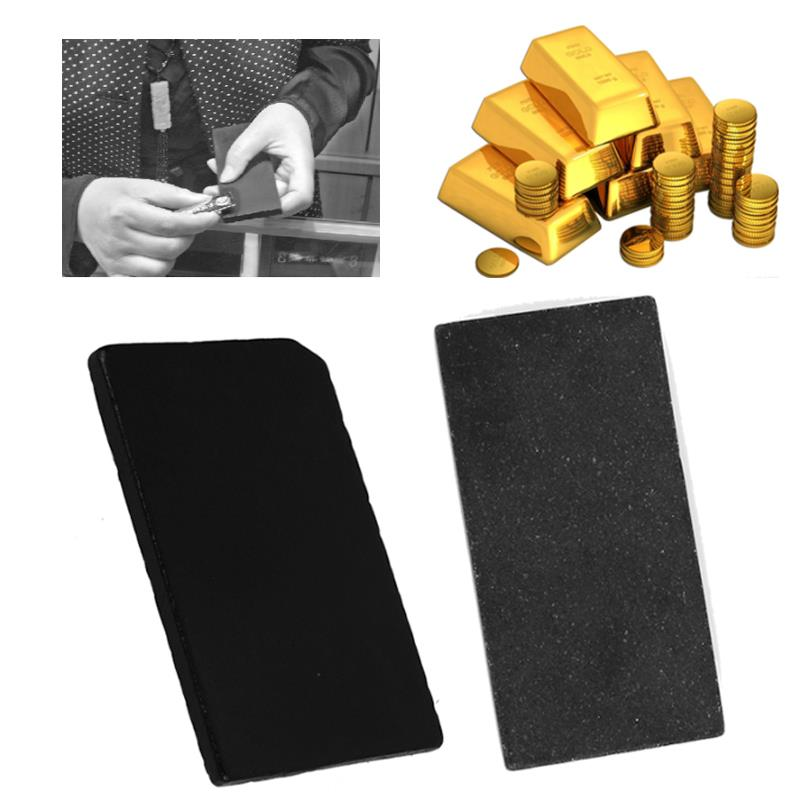 SOLEDI Stone Durable Gold Testing Tools Jewelry Tester Tool Identification Portable Touchstone Meteorite Slate Practical