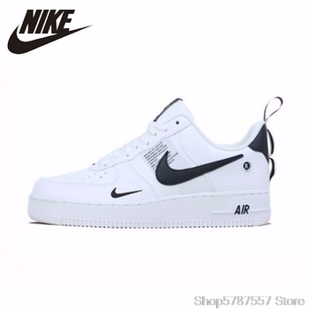 NIKE New Arrival AIR FORCE1 AF1 Breathable Utility Men Running Shoes Low Comfortable Sneakers AJ7747