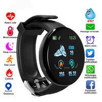 Smart Watch D18 Fitness Watches Heart Rate Monitor Measurement Smart Bracelet Sport Band Smartwatch Men D13