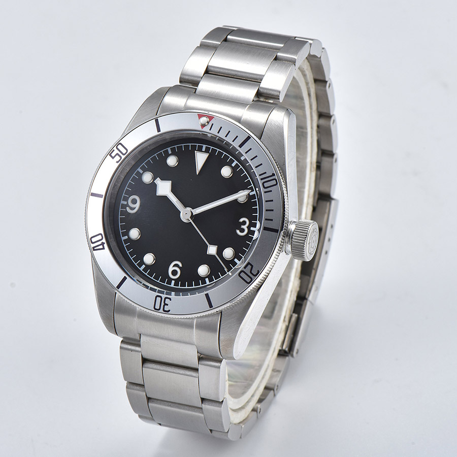 watch men automatic mechanical watch Luminous waterproof 316L Solid stainless steel 41MM  DT500
