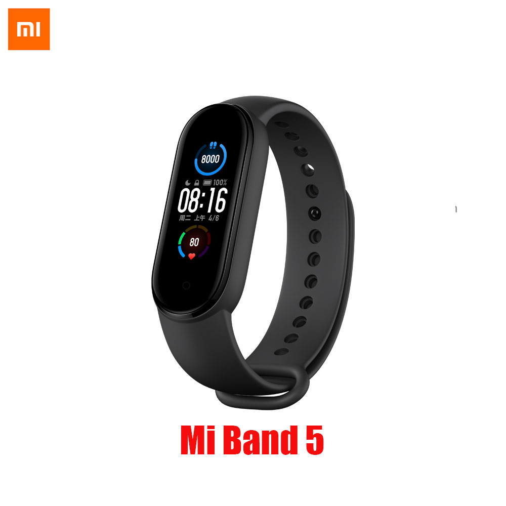 Xiaomi Mi Band 5 Smart Bracelet Miband 5 Smartband Fitness Traker Bluetooth Sport Waterproof Smart Band