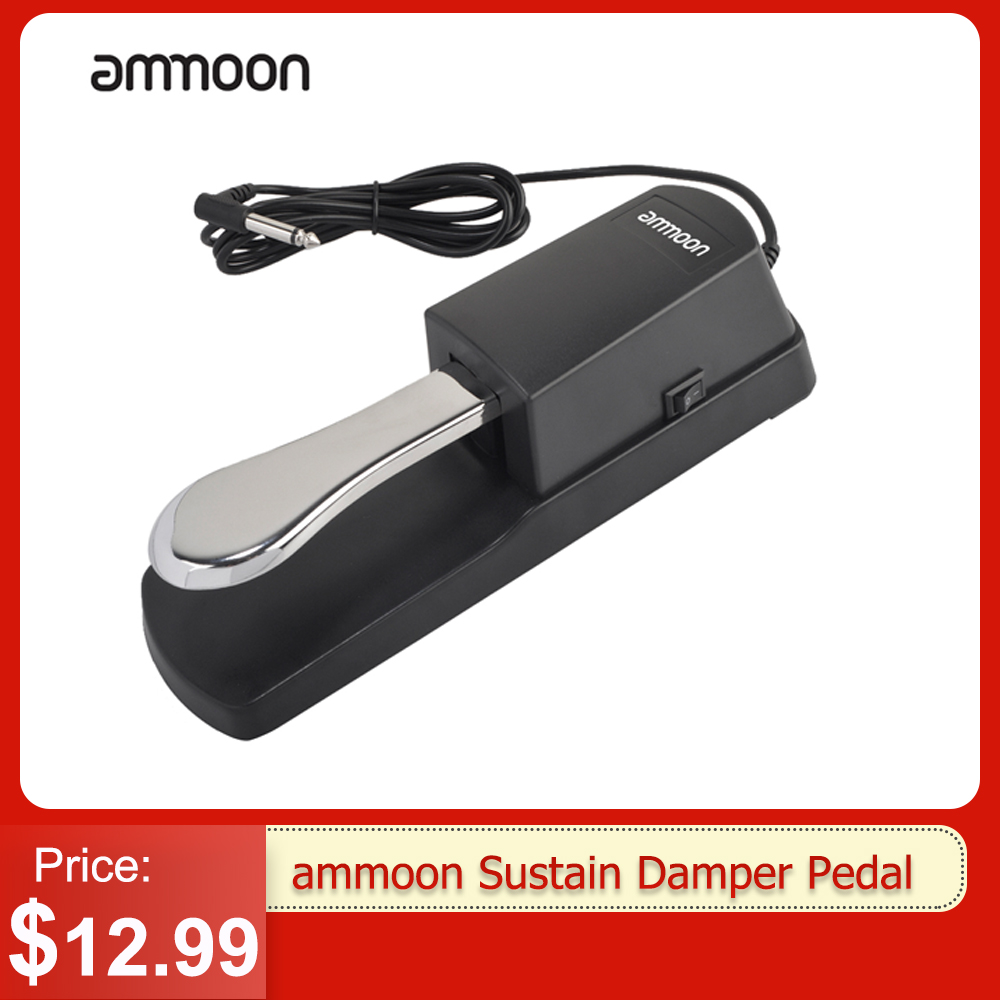 ammoon Sustain Damper Pedal Piano Keyboard Roland Electric Piano Electronic keyboard Electronic piano pedal New upgrade