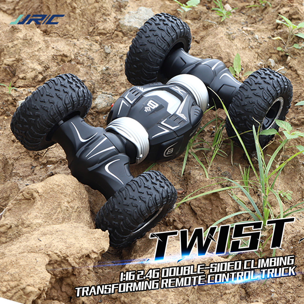 Hipac JJRC Q70 RC Car Off Road Buggy Radio Control 2.4GHz 4WD High Speed Climbing RC Car for Children Toys Twist- Desert Drift