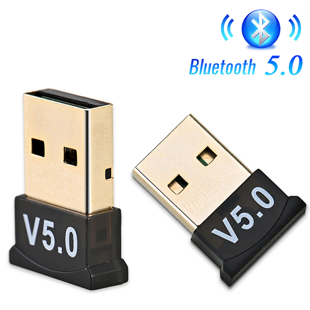 USB Bluetooth 5.0 Adapter Transmitter Bluetooth Receiver Audio Bluetooth Dongle Wireless USB Adapter For Computer PC Laptop
