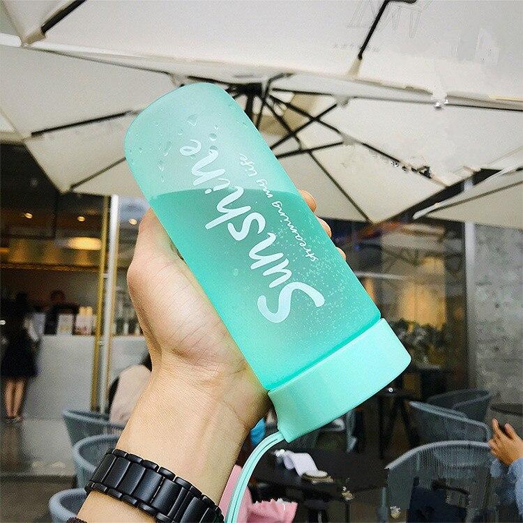 Hc54656bfb48946bb948eb85e721b85633 590ML Portable Sport Camping Cycling Travel Plastic Juice Water Bottle Fashion Large Capacity Bottles Heat Resistant Bottle