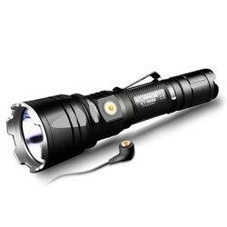 KLARUS XT12GT LED Zaklamp CREE XHP35 HI D4 1600LM gooi 603 meter Magnetische-Opladen Tactische Zaklamp met 18650 Batterij