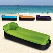 Silla de playa para adulto, saco de dormir impermeable y que se pliega con rapidez, saco de dormir para acampar, cama de aire
