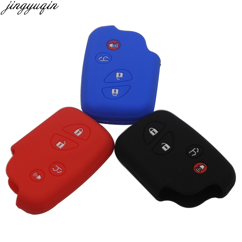 4 Buttons Remote Silicone Rubber <font><b>Key</b></font> Fob Cover Case For <font><b>Lexus</b></font> IS250 ES240 ES350 RX270 <font><b>RX350</b></font> RX300 Keyless Holder image