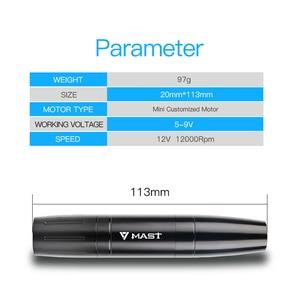 Image 2 - Permanent Makeup Machine Rotary Tattoo Gun Pen Eyebrow Lips Tattoo Machine Pen Device Set Accessories for Tattoo