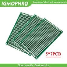 5pcs 5x7cm 5*7 5*7CM Double Side Prototype PCB diy Universal Printed Circuit Board 5cm*7cm