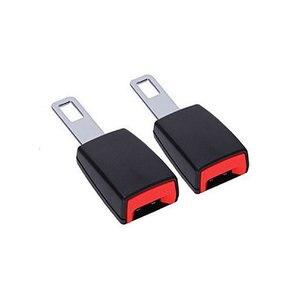 Image 5 - 1Pc 車の安全ベルトエクステンダーシートベルトカバーシートベルトパディング延長バックルプラグバックルシートベルトクリップ車のアクセサリー