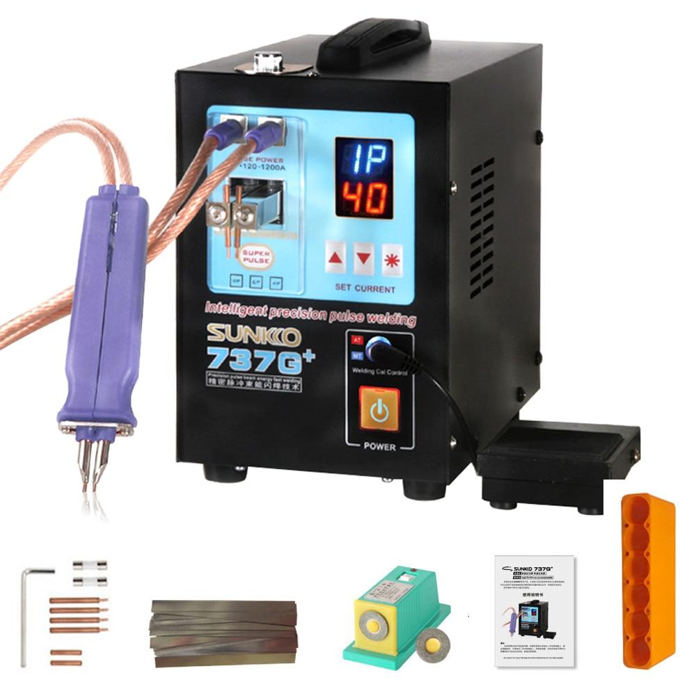 3KW 0.15MM Handheld Digital Display Battery Pack Spot Welder Welding Machine