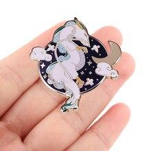 Pf051 dongmanli anime cães esmalte pinos crachá broche mochila saco colar lapela decoração jóias presentes para amigos