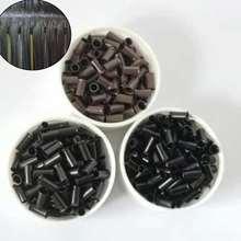 250 шт медные трубки для наращивания волос 30*26*60 мм