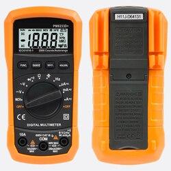 Elektryczny stół przyrządów automatyczny zakres cyfrowy multimetr domowe narzędzia pomiarowe z LCD PM8233D NCV kondensator nowy