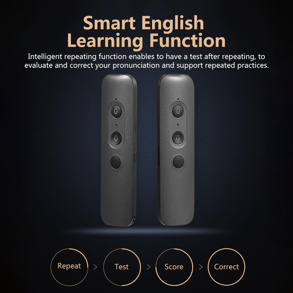 T88 AI Translator English Learning Machine Smart Voice Translation 40+ Languages 180 Countries AI Translation Machine