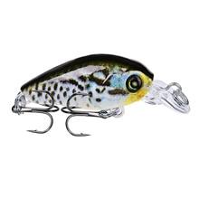 1pcs Minnow Fishing Lure 47mm 4g Crankbait Leurre isca artificial Hard Bait Wobblers Swimbait Accessories